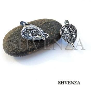 Швенза мельхиор с серебрением английский замок 017-027 - фото 5910