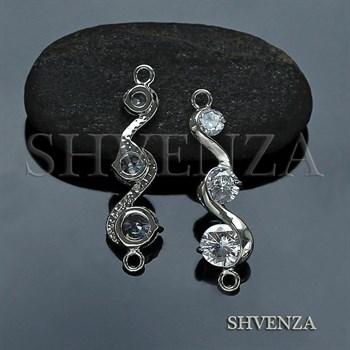 Коннектор цвет серебро 021-122 - фото 7867