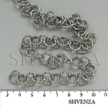 Цепочка цвет серебро 026-005 - фото 8039