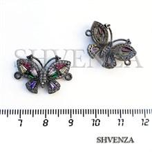 Коннектор бабочка цвет чёрный 021-105