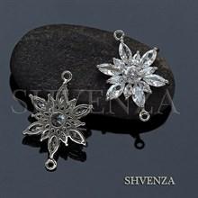 Коннектор цвет серебро 021-118