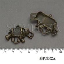 Коннектор Слон цвет бронза 012-015