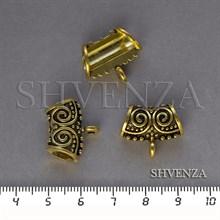 Бейлы цвет античное золото 018-038