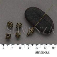 Металлические бусины цвет бронза 007-143