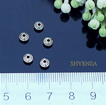 Металлические бусины 007-002 - фото 4564