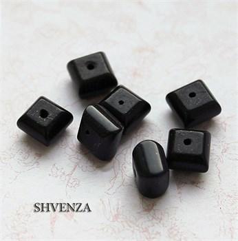 Бусины камень чёрный 006-003 - фото 4745
