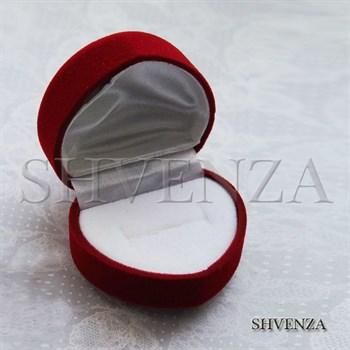 Коробочка для колец сердце 025-001 - фото 6699