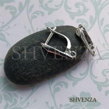 Швензы серебро 925 английский замок 027-002 - фото 6721