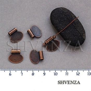 Подвеска металлическая цвет медь 005-020 - фото 7554