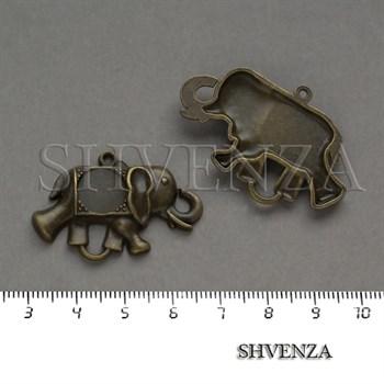 Коннектор Слон цвет бронза 012-015 - фото 8268