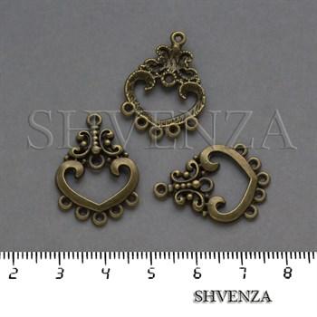 Коннектор на 5 нитей цвет бронза 012-016 - фото 8352