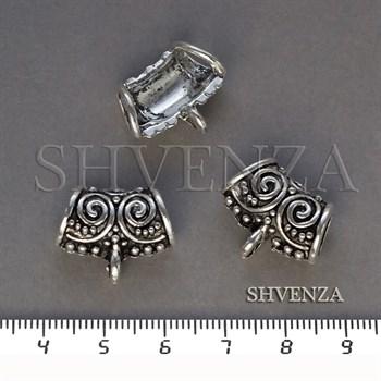 Бейлы цвет античное серебро 018-039 - фото 8457