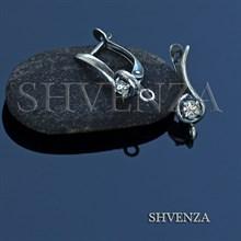 Швенза мельхиор с серебрением английский замок 017-026