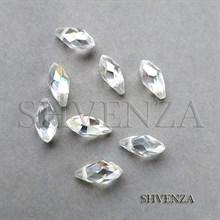 Бусины прозрачные капли стекло 008-014
