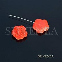 Бусина цветок 029-004