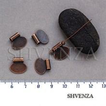 Подвеска металлическая цвет медь 005-020
