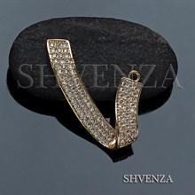 Декоративный элемент цвет золото 021-114